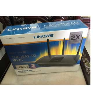 Brand New Linksys AC1900 Max Stream Router