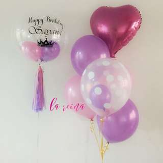 Bubble Balloon Set Bouquet