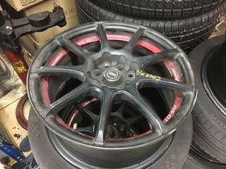 """Taiwan Rim 16""""  Pcd100&114.3 Tyre Kumho ps31 Call 012-3200032"""
