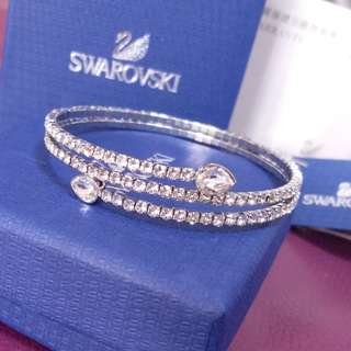 全新正品Swarovski bangle bling bling 手鐲 bangle
