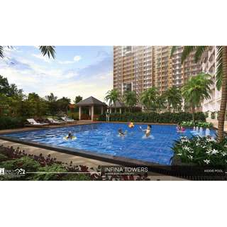 Condo in Cubao near UP and Ateneo, Infina Towers by DMCI Homes