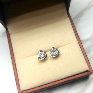 日本優雅水晶閃亮防敏感耳環 Brand New Japan Elegant Crystal Shiny Anti-Allergy Earrings