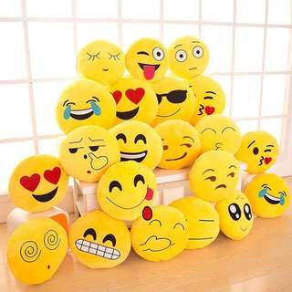 Emojie pillows