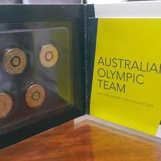 澳洲 2016年奧林匹克紀念幣套組