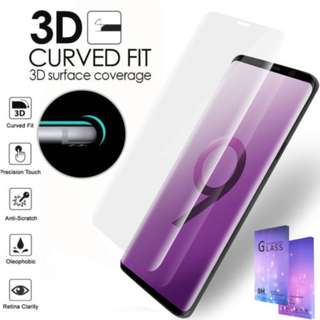 Samsung S9Plus S9 Plus Screen Protector Tempered Glass Curve