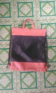 Sisidlan Leather Drawstring Bag BNWOT
