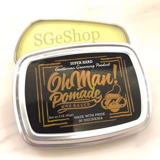 Oh Man Pomade - Mystic Gold - Waxbased