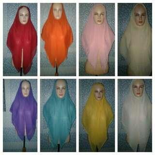 8 pcs hijab paris instan