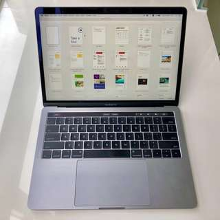 MacBook Pro 13 Touch Bar and Touch ID 3.1GHz Processor 512 GB Storage 8 GB RAM 2018
