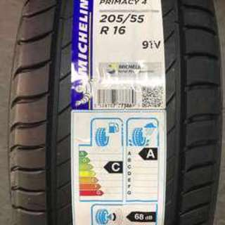 205/55/16 Michelin Primacy 4 - Made in Europe