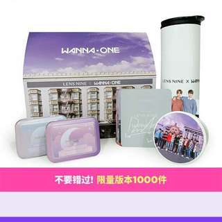 Wanna one x lens nine con set