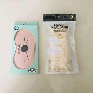 Eyeshade/Eyemask & Headband
