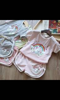 PO unicorn kids set Wear Brand New Size 100-140cm