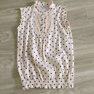Sleeves Cotton Top