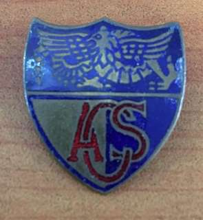 Vintage ACS School Enamel Badge England