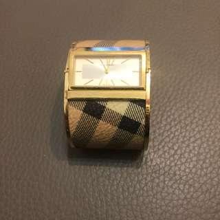 Burberry bangle watch
