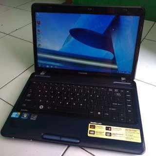 Laptop Design Toshiba L645 Core i5 Ram 2 Hdd 500 Mulus