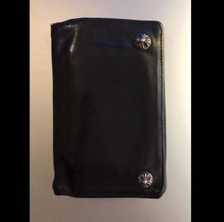 Chrome Hearts Leather Wallet 原價$8500 購自日本