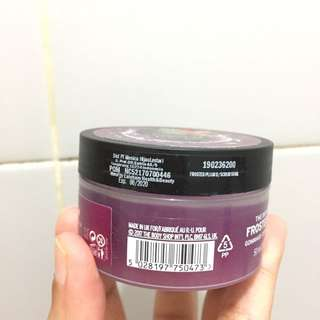 Body Scrub Frosted Plum The Body Shop