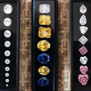 Lab Diamond 1 set (2 box diamond)