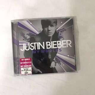 justin bieber my worlds authentic album cd 🌻