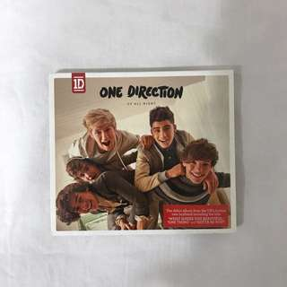 one direction up all night cd album limited edition cover 🌻