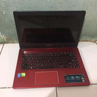 LAPTOP MURAH ASUS A450L core i5-4200 VGA NVIDIA GT720 2GB GAMING DESIGN
