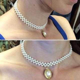 現貨美國二手Vintage公主的珍珠紀念項鍊