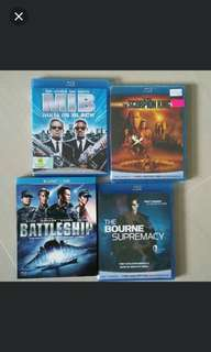 Original Blu-ray movies for trade
