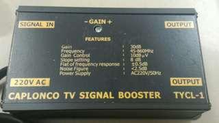電視訊號放大器 { TV Signal Booster }