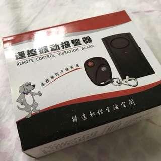 Portable Remote Control Vibration Alarm for bike / e-bike or e-scooter