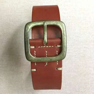 (Used) 90% off Netherland G-Star real leather belt