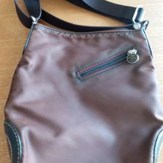 Handbag by LANCEL made in France.  Real leather support the bag