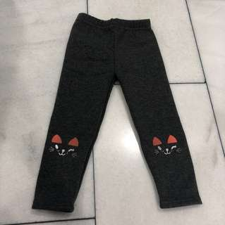 Baby girl Thick legging 90cm