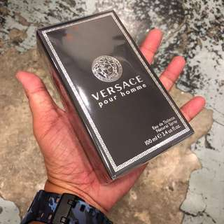 Authentic Original Versace Pour Homme Perfume 100ml Limited Stock First Come First Served 😎👍
