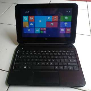 Notebook Hp Pavilion 10 Touchscreen Ram 2 Hdd 500 Likenew Mulus 98%