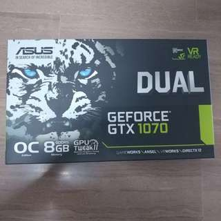 ASUS GTX1070 8GB OC Edition