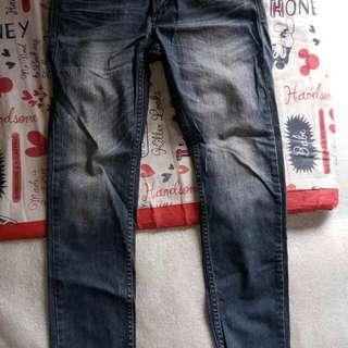Petrol maong pants