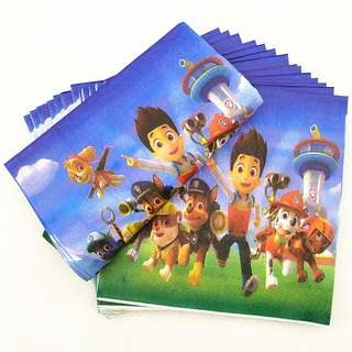 PAW PATROL Napkins (Pack of 20)
