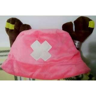 海賊王 航海王 喬巴帽 造型帽 粉色