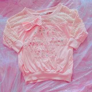 Pink Top🎀Liz Lisa