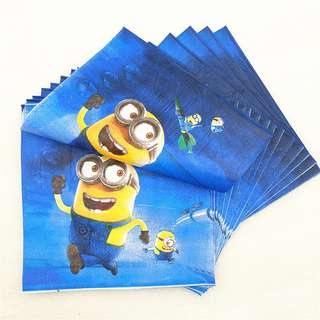 MINIONS Napkins (Pack of 20)