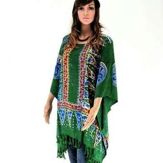 Classy Batik Boutique Dress / Batik Long Loose Boutique Blouse