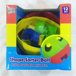 Play & Learn Shape Sorter Ball