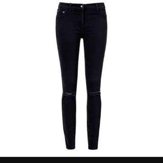 SEED skinny ripped jeans BNWT