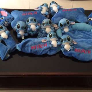 1 set bungkus jok  stitch