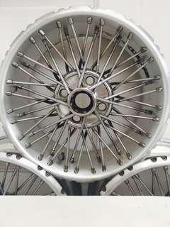 Ijak Monarch 2 Wire Wheel (Rare)