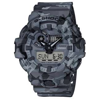 CASIO G-SHOCK GA-700 series 灰迷彩色 GA-700CM GSHOCK GA700CM