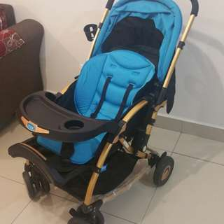 Baby stroller and rocker