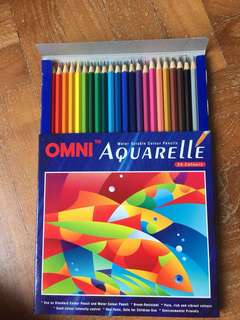 One water Colour pencils